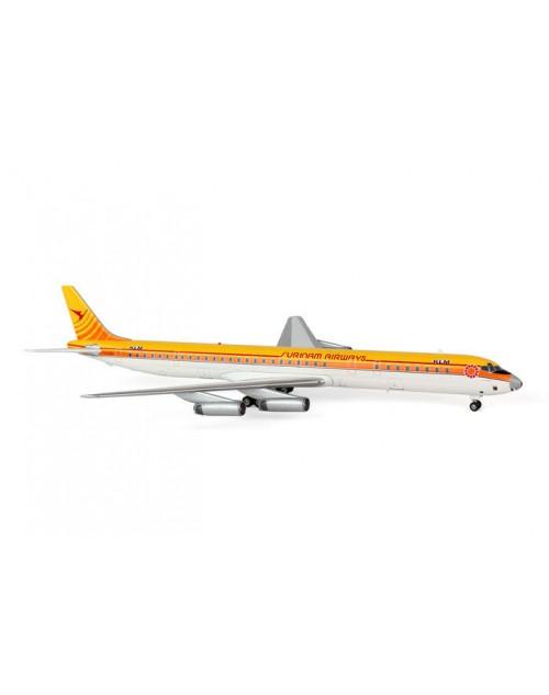 Surinam Airways Douglas DC-8-63 PH-DEM KLM titles 1/200 scale diecast Aviation 200 Models