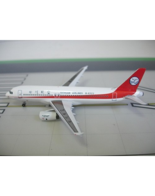 Sichuan Airlines Airbus A320-232 B-6323 1/400 scale diecast Aviation 400 Models