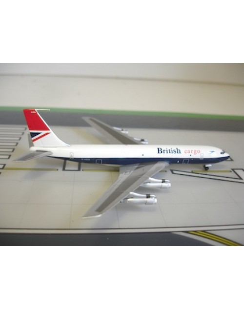 British Cargo Boeing 707-336C G-ASZG 1/400 scale diecast Aviation 400 Models