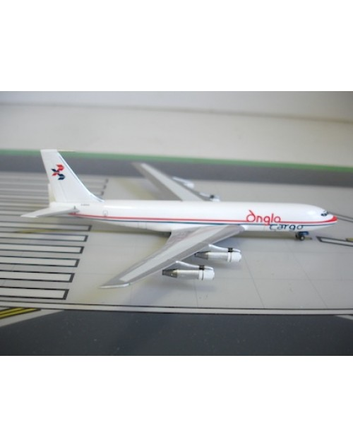 Anglo Cargo Boeing 707-338C G-EOCO 1/400 scale diecast Aviation 400 Models