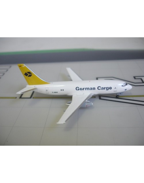 German Cargo Boeing 737-230 D-ABHE 1/400 scale diecast Aviation 400 Models