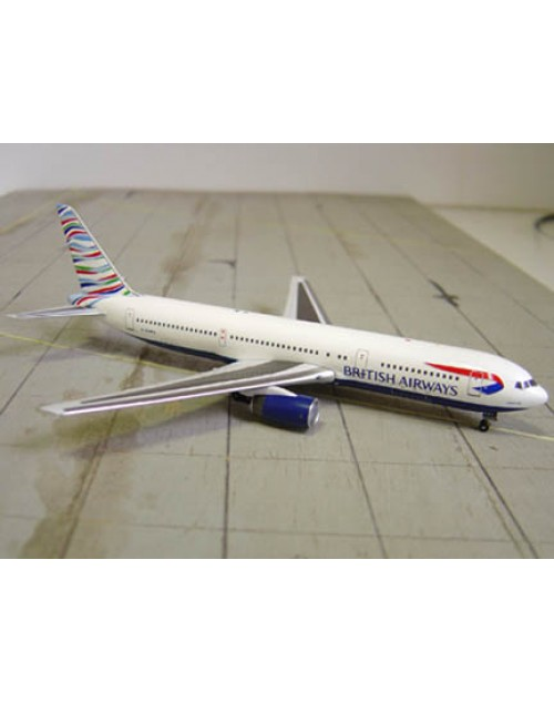 British Airways Boeing 767-336 G-BNWG US Tail 1/400 scale diecast Aviation 400 Models