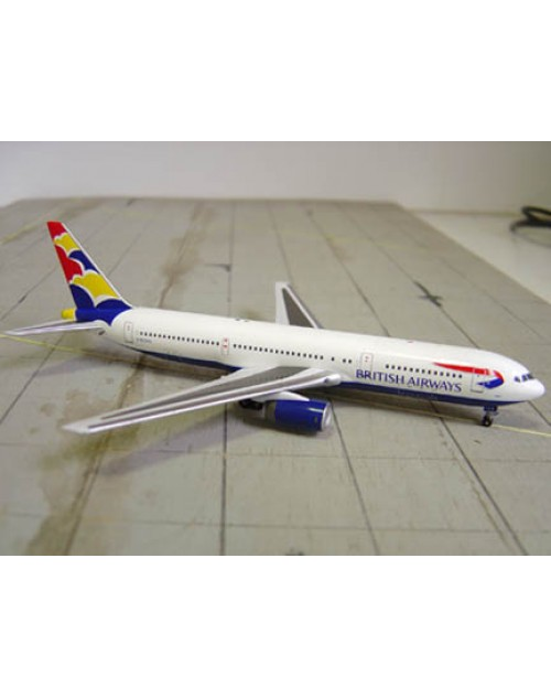 British Airways Boeing 767-336 G-BZHA Denmark Tail 1/400 scale diecast Aviation 400 Models