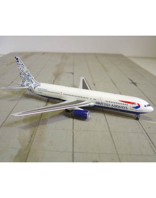 British Airways Boeing 767-336 G-BNWA Holland Tail 1/400 scale diecast Aviation 400 Models