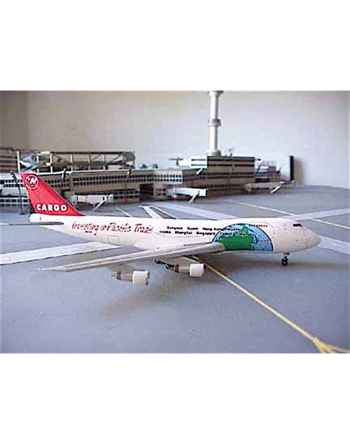 Northwest Cargo Boeing 747-2J9F N643NW Investing in Pacific Trade 1/400 scale diecast Dragon Wings Models