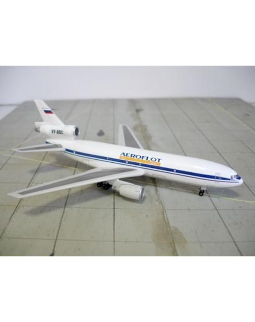 Aeroflot Cargo Douglas DC-10-40F VP-BDG 1/400 scale diecast DragonWings Models