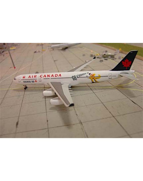 Air Canada Airbus A340-313X C-FYLD Nagano 98 1/400 scale diecast Dragon Wings Models
