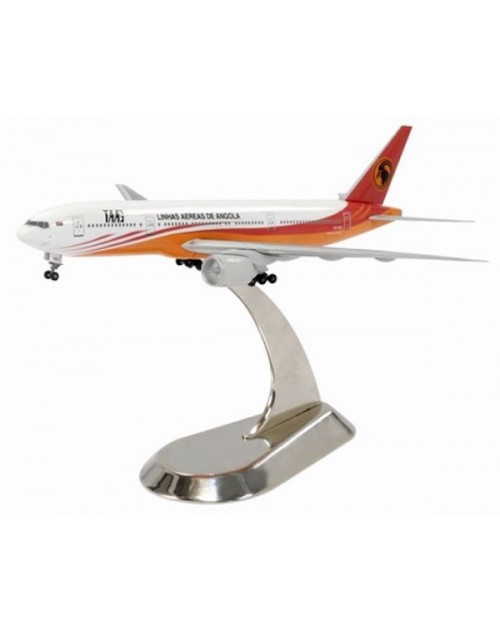 TAAG - Angola Airlines Boeing 777-2M2ER D2-TEE with Metal stand 1/400 scale diecast Dragon Wings Models