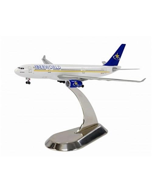 Iberworld Airbus A330-243 EC-IDB Metal Stand 1/400 scale diecast Dragon Wings Models
