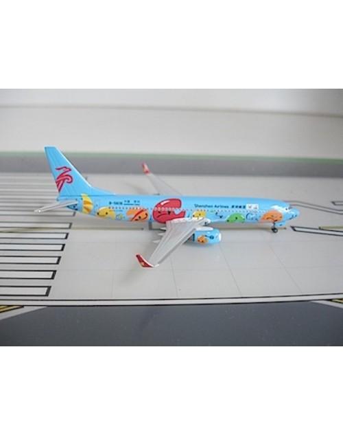 Shenzen Airlines Boeing 737-87L Winglets B-5606 Shenzen 2011 1/400 scale diecast Dragon Wing Models