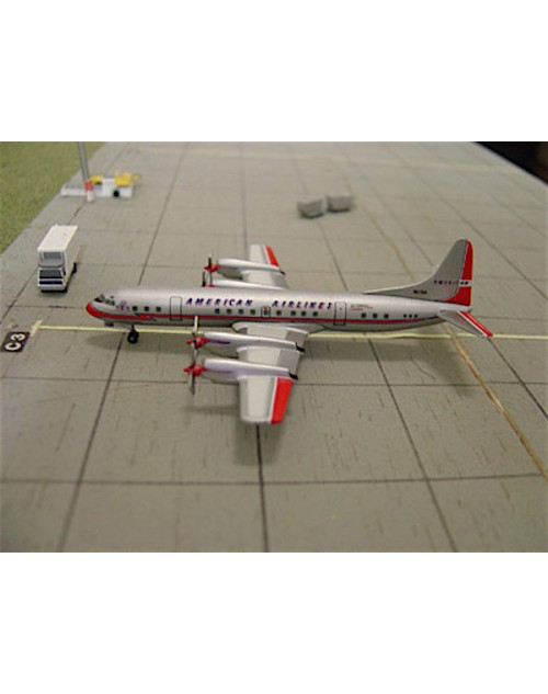 American Airlines L-188A Electra N6126A tin box 1/400 scale diecast Dragon Wings Models