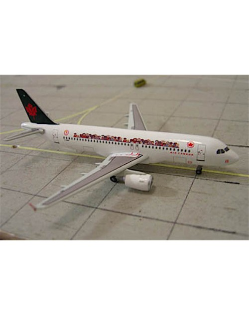 Air Canada Airbus A320-211 C-FDRP Children Miracle 1/400 scale diecast Dragon Wings Models