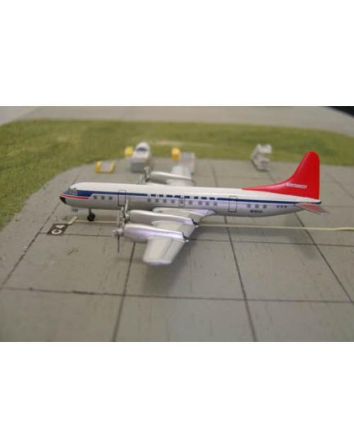 Northwest Lockheed L-188C Electra N130US Tin box 1/400 scale diecast Dragon Wings Models