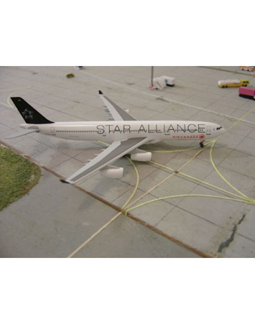 Air Canada Airbus A340-313X C-FYLD Star Alliance 1/400 scale diecast Dragon Wings Models