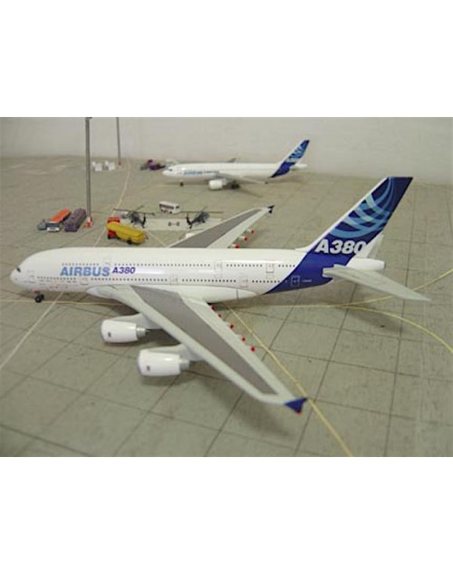 Airbus Industries Airbus A380 F-WWOW House colors with customer airline logos 1/400 scale diecast Dragon Wings Models