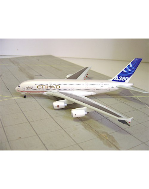 Airbus Industries Airbus A380-841 F-WWDD Etihad titles 1/400 scale diecast Dragon Wings Models