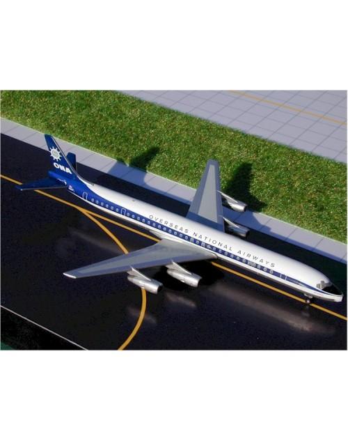 Overseas National Airways Douglas DC-8-61CF N867F 1/400 scale diecast GeminiJets