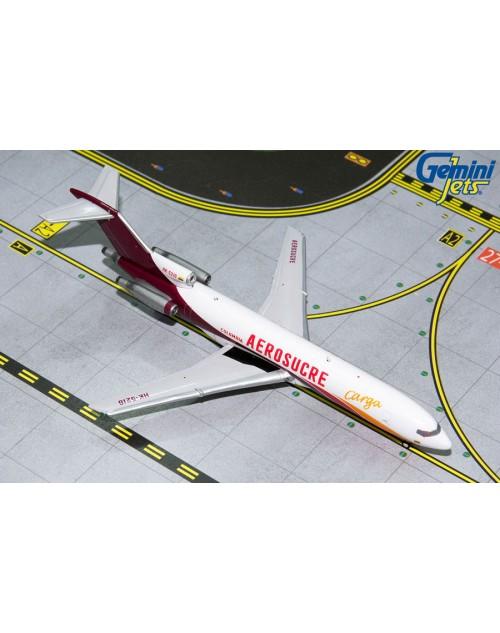 Aerosucre Cargo Boeing 727-200/F HK-5216 1/400 scale diecast GeminiJets