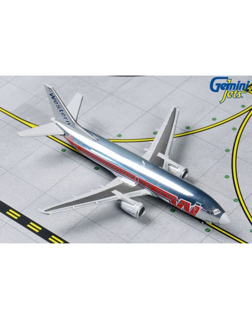 "Western Boeing 737-347 N306WA ""Budlight"" 1/400 scale dicast Gemini Jets"