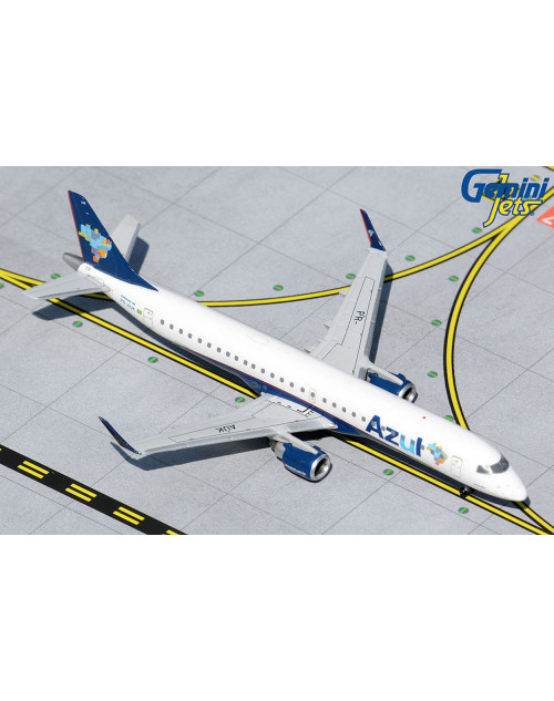 Azul Embraer ERJ-195AR PR-AUK 1/400 scale diecast Gemini Jets