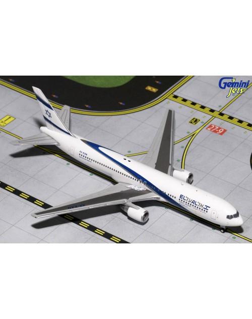 EL AL Boeing 767-3Q8ER 4X-EAN 1/400 scale diecast Gemini Jets