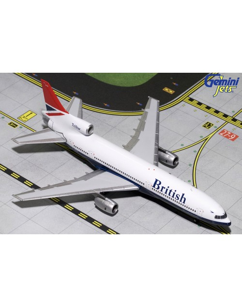 British Airways Lockheed L-1011-1 G-BBAG Negus 1/400 scale diecast GeminiJets