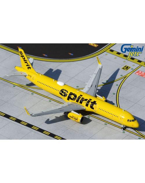 Spirit Airbus A321-231 Sharklets 1/400 scale diecast GeminiJets