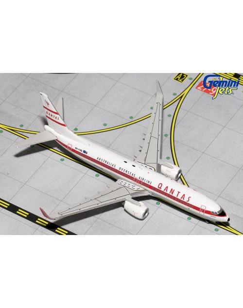 Qantas Boeing 737-838 Winglets VH-VXQ Retro Roo II 1/400 scale diecast Gemini Jets