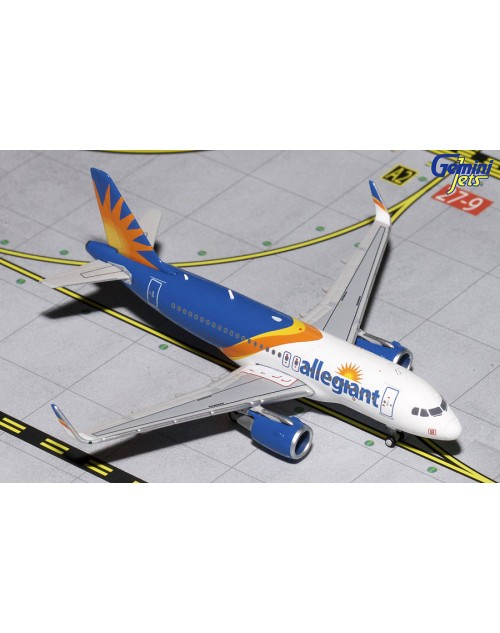 Allegiant Airbus A319 Sharklets New colors 1/400 scale diecast GeminiJets