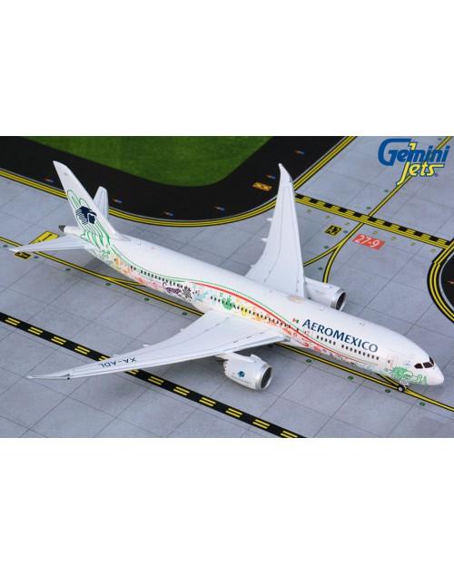 AeroMexico Boeing 787-9 XA-ADL Quetzalcoatl 1/400 scale diecast GeminiJets