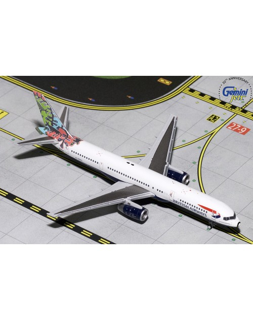 British Airways Boeing 757-236 G-CPEL Animals And Trees 1/400 scale diecast GeminiJets