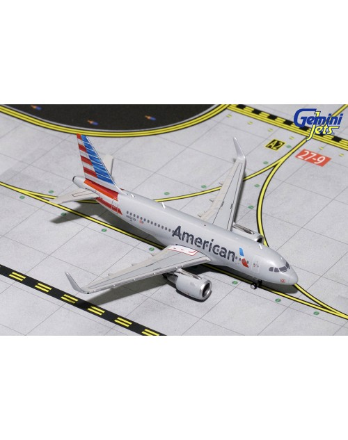 American Airbus A319-115 Sharklet N8027D 1/400 scale diecast GeminiJets