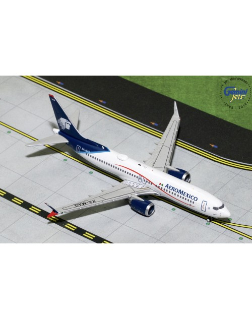 AeroMexico Boeing 737 Max-8 XA-MAG 1/400 scale diecast GeminiJets