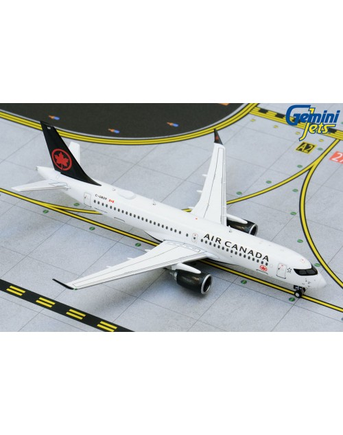 Air Canada Airbus A220-300 C-GROV Current colors 1/400 scale diecast Gemini Jets