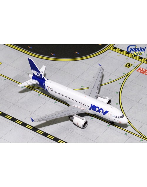 JOON Airbus A320-214 F-GKXN 1/400 scale diecast Gemini Jets