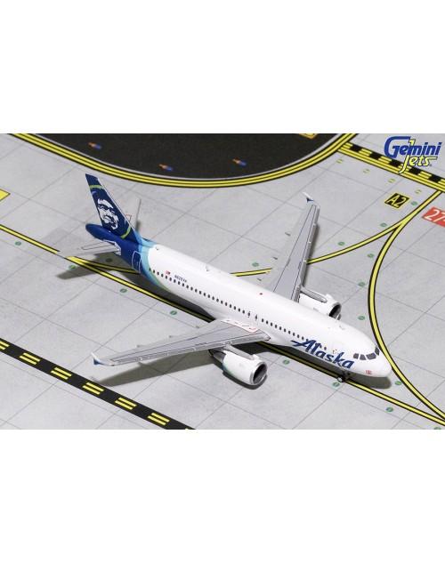 Alaska Airbus A320-214 N625VA 1/400 scale diecast Gemini Jets