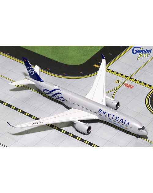 Vietnam Airlines Airbus A350-900 VN-A897 Skyteam 1/400 scale diecast GeminiJets