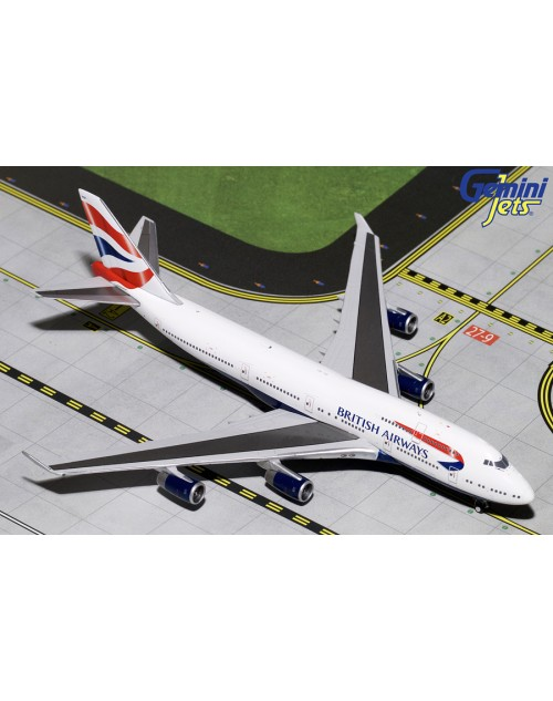 British Airways Boeing 747-436 G-BYGF 1/400 scale diecast Gemini Jets