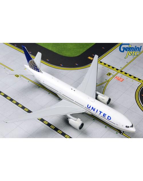 United Boeing 777-222ER N796UA 1/400 scale diecast Gemini Jets