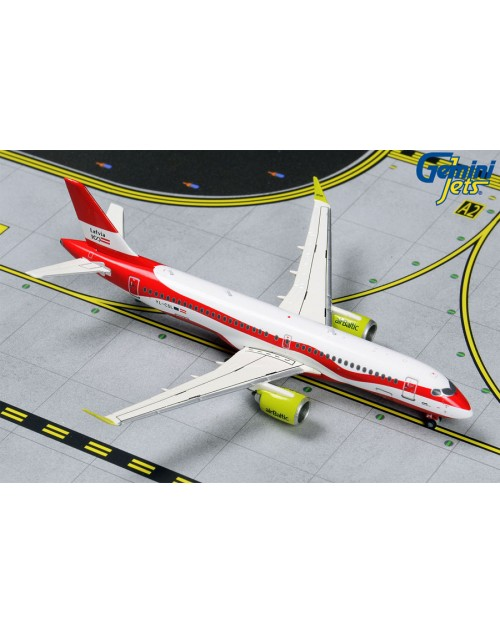 Air Baltic Airbus A220-300 YL-CSL Current colors 1/400 scale diecast Gemini Jets