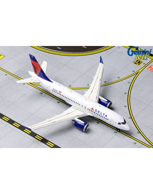 Delta Airbus A220-100 N102DU Current colors 1/400 scale diecast Gemini Jets