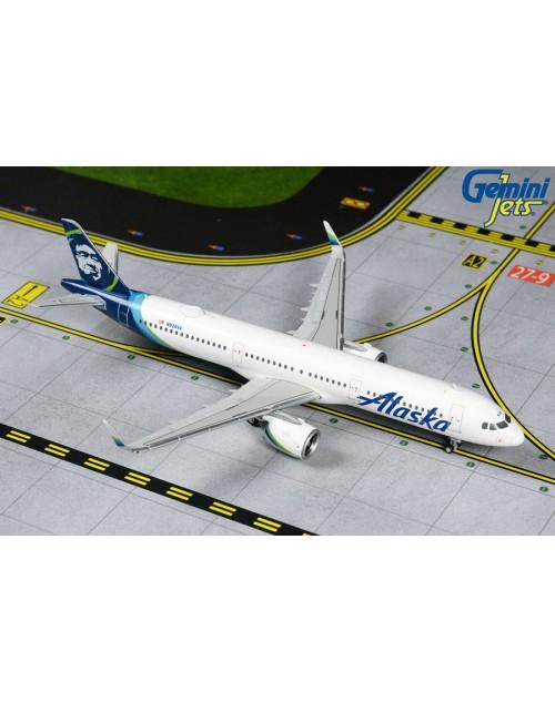 Alaska Airbus A321-253NEO N928VA 1/400 scale diecast Gemini Jets