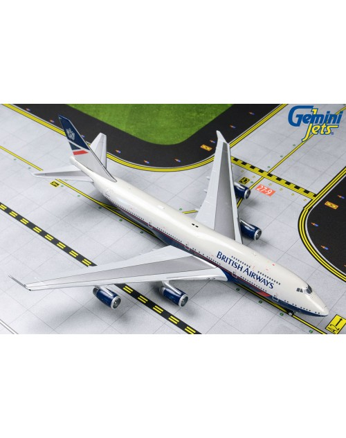 British Airways Boeing 747-436 G-BNLY Landor 1/400 scale diecast Gemini Jets