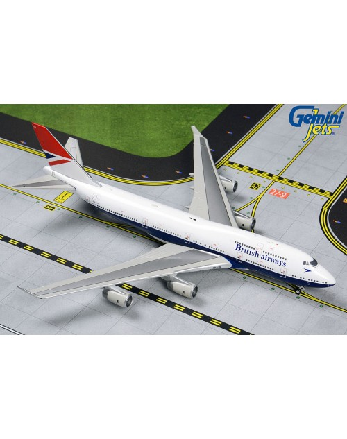 British Airways Boeing 747-436 G-CIVB Negus 1/400 scale diecast GeminiJets