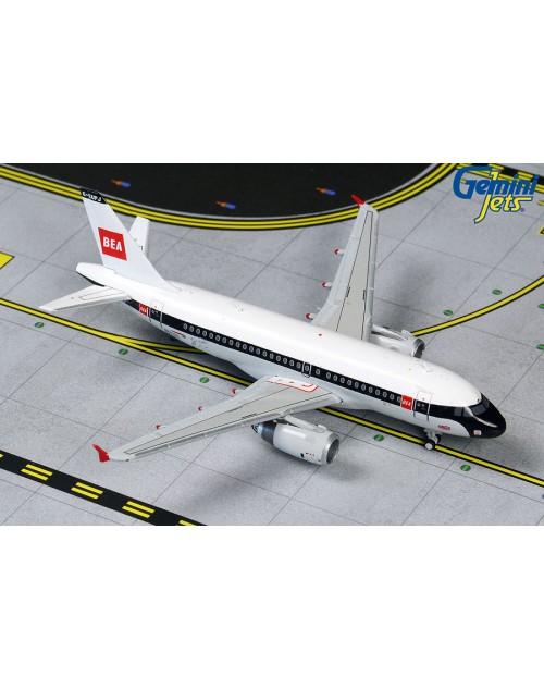 British Airways Airbus A319-131 G-EUPJ Retro BEA 1/400 scale diecast GeminiJets