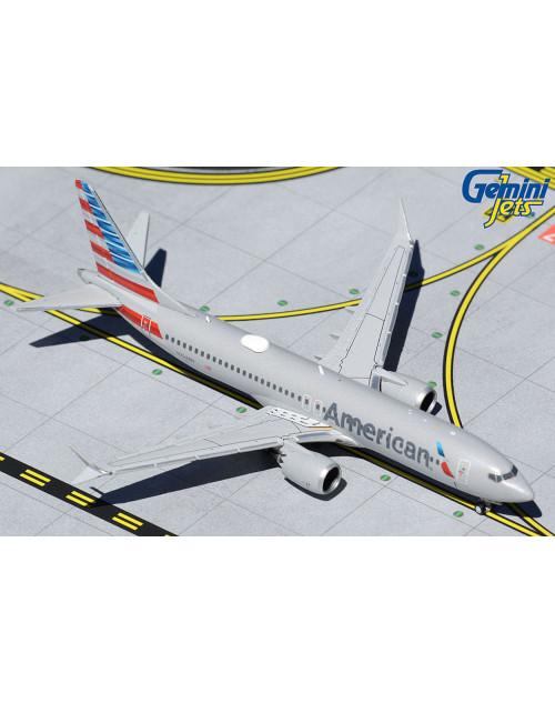 American Boeing 737 Max-8 N324RN 1/400 scale diecast GeminiJets