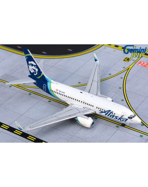 Alaska Boeing 737-700 Winglets N614AS New colors 1/400 scale diecast GeminiJets