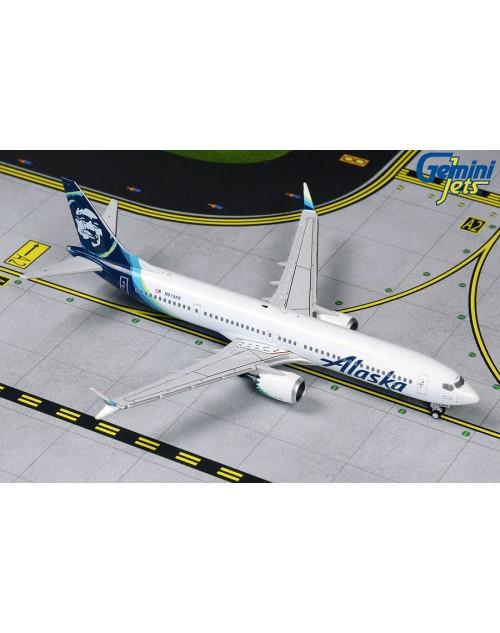 Alaska Boeing 737 Max-9 N913AK 1/400 scale diecast Gemini Jets