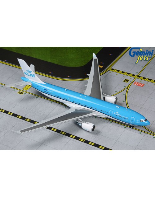 KLM Airbus A330-203 PH-AOM New colors 1/400 scale diecast GeminiJets