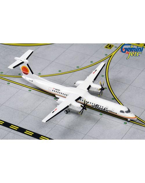 Alaska Dash 8Q-400 N421QX Horizon Air Retro 1/400 scale diecast GeminiJets
